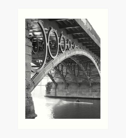 The Bridge of Triana Art Print