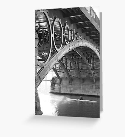 The Bridge of Triana Greeting Card
