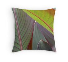 one that bends Throw Pillow