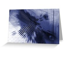 Modern Abstract Background  Greeting Card