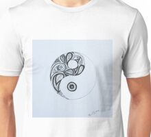 Patterned Yin Yang Unisex T-Shirt