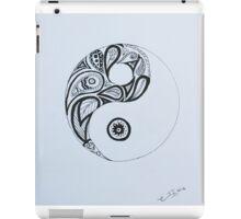 Patterned Yin Yang iPad Case/Skin