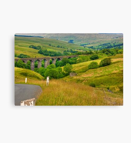 Dales Viaduct Canvas Print