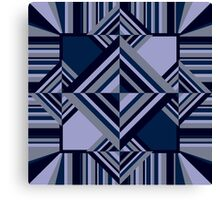 Abstract geometric pattern Canvas Print