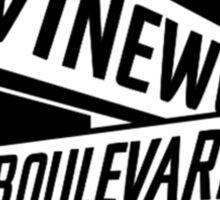 Vinewood Boulevard Radio Sticker