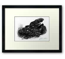 Centurion and Chieftain AVRE Framed Print