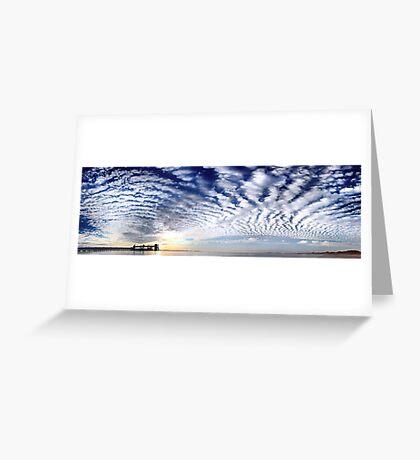 Kwinana Sky (Multi Row Panorama!)   Greeting Card