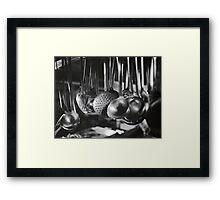 Ladles & Spoons Framed Print