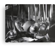 Ladles & Spoons Metal Print