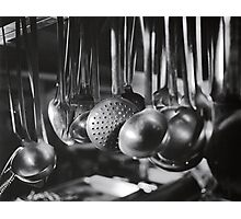 Ladles & Spoons Photographic Print