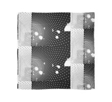 The White Dots Scarf