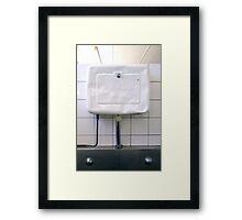 """""""White Zen Moment"""" Framed Print"""