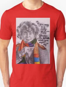 Tom Baker as the Doctor Unisex T-Shirt