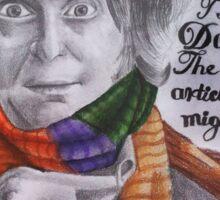 Tom Baker as the Doctor Sticker