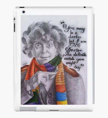 Tom Baker as the Doctor iPad Case/Skin