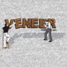 2 men at work by veneer