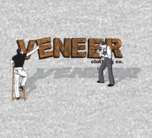 2 men at work by veneer