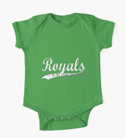 Royals - It's In The Blood One Piece - Short Sleeve