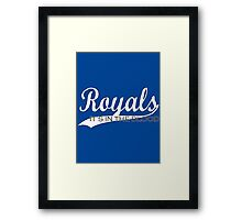 Royals - It's In The Blood Framed Print