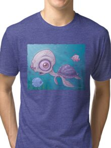 Sea Turtle Tri-blend T-Shirt