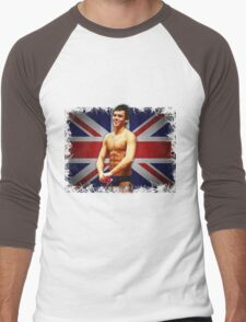 Tom Daley and Union Jack Men's Baseball ¾ T-Shirt