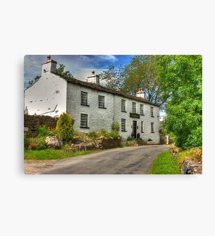 Sportsman Inn - Cowgill. Canvas Print