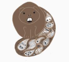 Paisley Beaver by Tania Rose