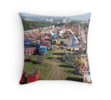 Newcastle Town Moor Throw Pillow