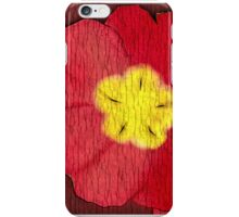 Red Evening Primrose iPhone Case/Skin