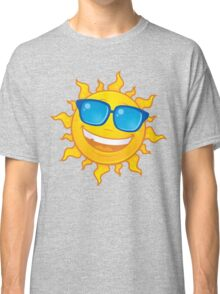 Summer Sun Wearing Sunglasses Classic T-Shirt