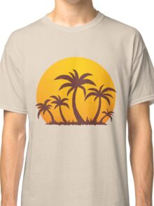 Palm Trees and Sun Classic T-Shirt