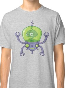 Brainbot Robot with Brain Classic T-Shirt