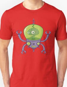 Brainbot Robot with Brain T-Shirt