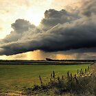 Storm Cloud over Cresswell by Michael Brewis