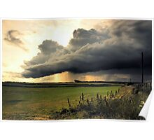 Storm Cloud over Cresswell Poster