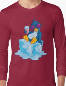 Penguin On Ice Long Sleeve T-Shirt
