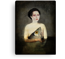 Waterlove Canvas Print