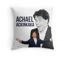 Michael McIntrye - Showtime - Achael Ackinkaka Throw Pillow