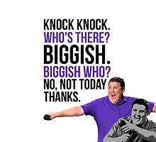Peter Kay - The Tour That Didn't Tour Tour - Knock Knock Joke by 4ogo Design