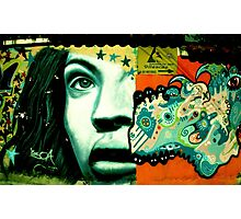 Street art in Ecuador Photographic Print