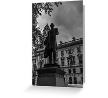 Beautiful London Statue Number One Greeting Card