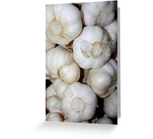Garlic Greeting Card