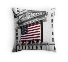 NYSE Throw Pillow