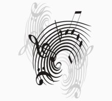 Music Notes by Svetlana Sewell