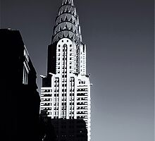 Sunset on the Chrysler Building, New York by Jeff Blanchard
