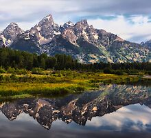 Grand Tetons Reflections by Teresa Zieba