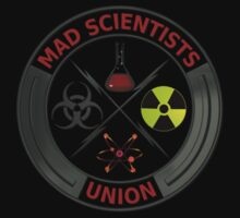 Mad Scientist Union Logo T-Shirt