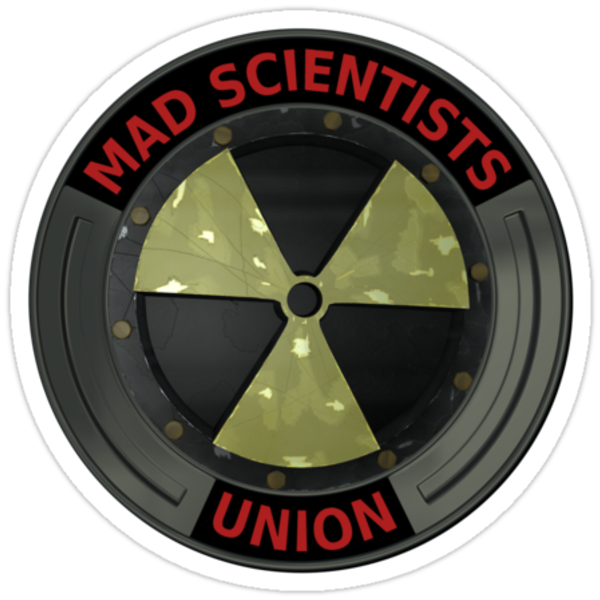 Mad Scientist Union Radioactive by Packrat