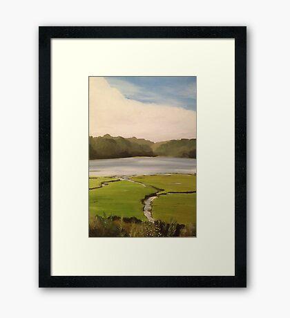 Devoran Creek Cornwall  Framed Print