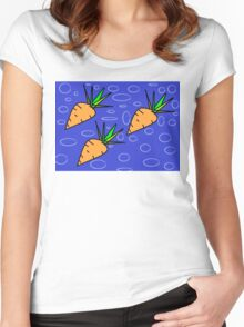 Cute Carrots Women's Fitted Scoop T-Shirt